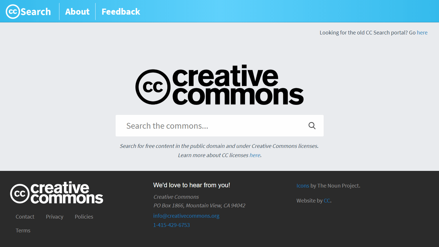 CC Search - Creative Commons